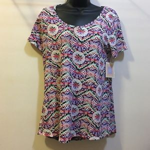 LulaRoe size small classic Tee Floral New WithTags